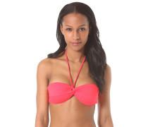 Bandeau Sol Searcher - Bikini Oberteil für Damen - Rot
