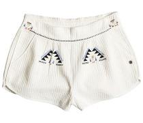 Flying Birds - Shorts für Damen - Weiß