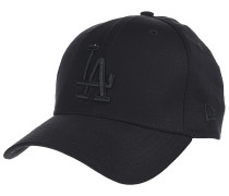 League Essential 39Thirty Los Angeles Dodgers Fitted Cap - Schwarz