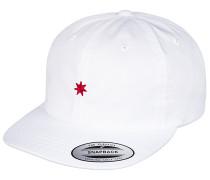 Skate on - Snapback Cap für Herren - Weiß