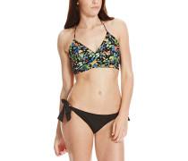 Tie - Bikini Set für Damen - Schwarz