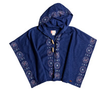 Sweet Shell A - Kapuzenjacke für Mädchen - Blau