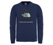 Box Crew Sweatshirt - Blau