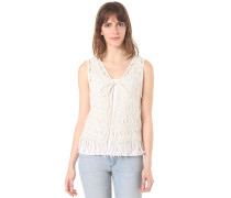 Knit - Weste für Damen - Weiß