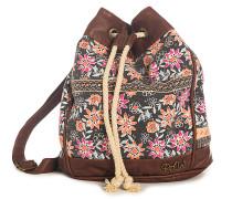 Flower Power - Handtasche für Damen - Schwarz