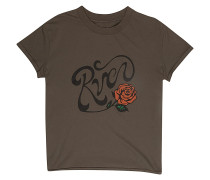Bloom - T-Shirt - Braun