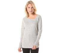 Asym Upset - Langarmshirt für Damen - Grau