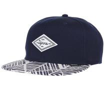 6P SB Alopa Snapback Cap - Blau