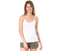 Cami Blank - Top für Damen - Weiß