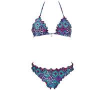 Ebony Bandeau - Bikini Set für Damen - Blau