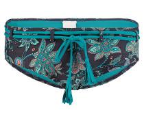 Paisley Shorty - Bikini Hose für Damen - Blau