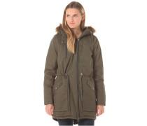 Nakita Outerwear Fake Fur - Jacke für Damen - Grün