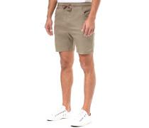 Elastic Roller - Chino Shorts für Herren - Braun