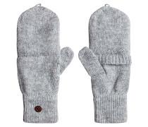 TB Knit Mitten - Handschuhe für Damen - Grau