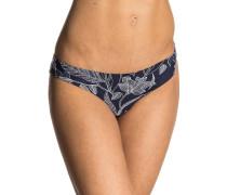 Yamba Floral Cheeky - Bikini Hose - Blau