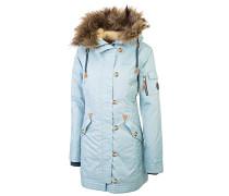 Himalaya Sun - Mantel für Damen - Blau