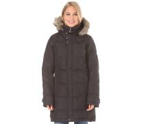 Down Laredoz Fur - Mantel für Damen - Schwarz