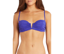 Sol Searcher Bustier - Bikini Oberteil für Damen - Blau