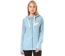 Gym Vintage - Kapuzenjacke für Damen - Blau