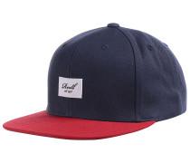 Pitchout 6-Panel Snapback Cap - Blau
