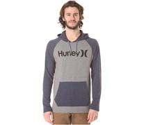 One & Only Hooded L/S - Hemd für Herren - Grau