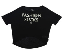 Fsucks Cross - T-Shirt für Damen - Schwarz
