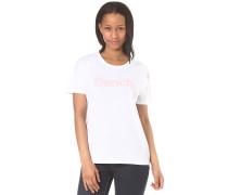 Grown On Sleeve Corp Print - Top für Damen - Weiß