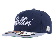 RollinSnapback Cap Blau