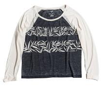 Tube Bamboo Strp - Langarmshirt für Damen - Schwarz