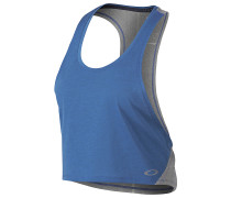 Prosper Crop - Top für Damen - Blau