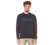 Everett Reveal Crew - Sweatshirt - Blau