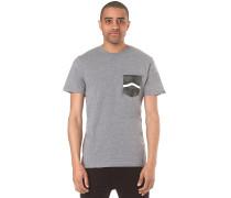 Side Stripe Pocket - T-Shirt für Herren - Grau