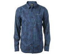 Night Flower - Hemd für Herren - Blau