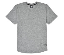 Authentic Long V-Neck - T-Shirt für Herren - Grau