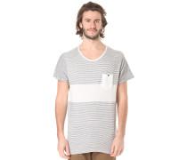 Striped - T-Shirt für Herren - Weiß