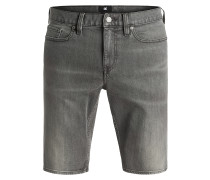 Washed Slim - Shorts für Herren - Grau