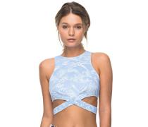 Pop Surf - Bikini Oberteil für Damen - Blau