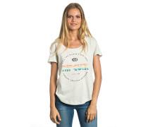 Active Logo - T-Shirt für Damen - Weiß