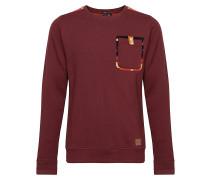 Flannelville Crew - Sweatshirt für Herren - Rot