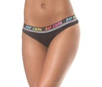 Surf Geo Triangle - Bikini Hose für Damen - Schwarz