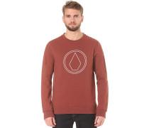 Stone Crew - Sweatshirt für Herren - Rot