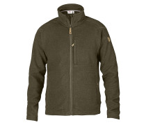 Buck Fleece - Sweatjacke für Herren - Grün