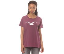 Möwe - T-Shirt für Damen - Lila