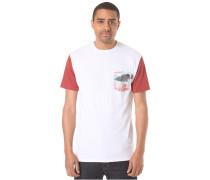 Island Pocket - T-Shirt für Herren - Weiß