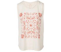 Paisley - T-Shirt für Damen - Weiß