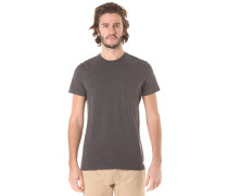 Basic Crew Pocket - T-Shirt für Herren - Grau