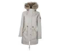 Hannah - Mantel für Damen - Grau