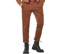 Bronson Slim Premium Micro Stretch - Hose für Herren - Braun