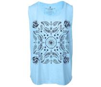 Paisley - T-Shirt für Damen - Blau