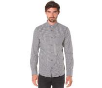 Kieran L/S - Hemd für Herren - Schwarz